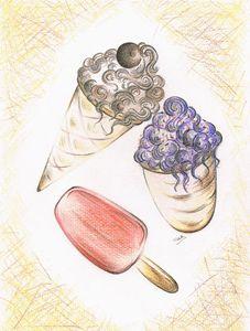 Summer ices - Teresa white Delightful Art
