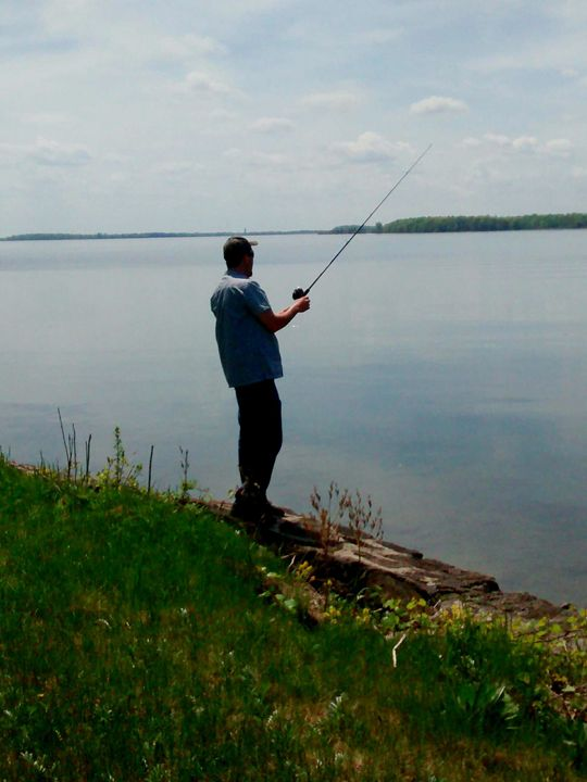 Here fishing - Sether