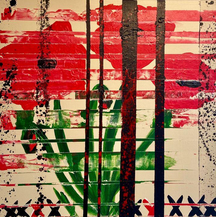Chaotic Poppies - Rhiannon Yandell