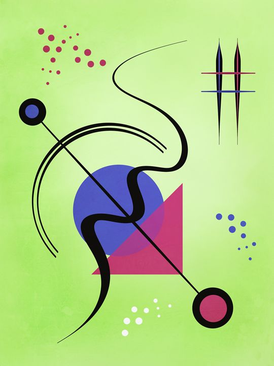Modern art - Gabi Siebenhuehner