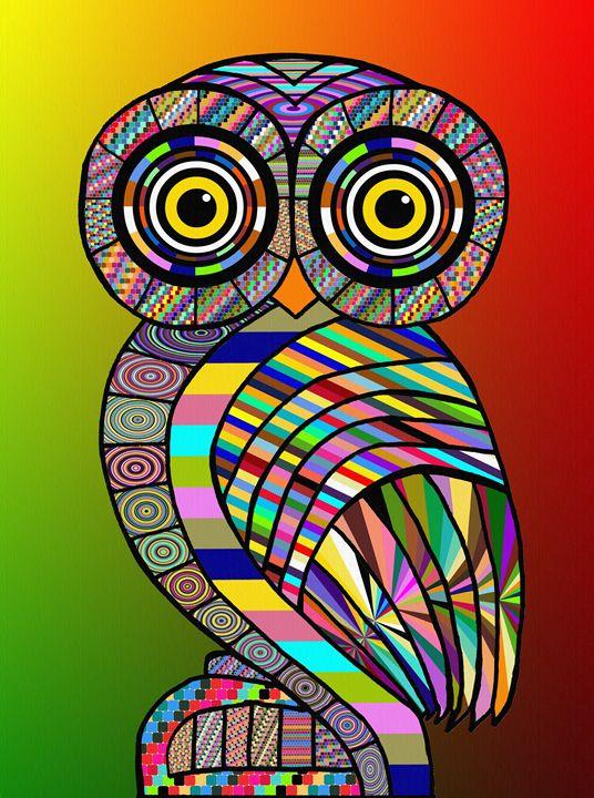 Owl - Gabi Siebenhuehner