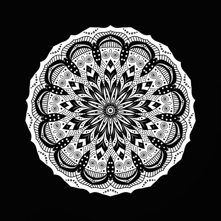 Mandala - Gabi Siebenhuehner