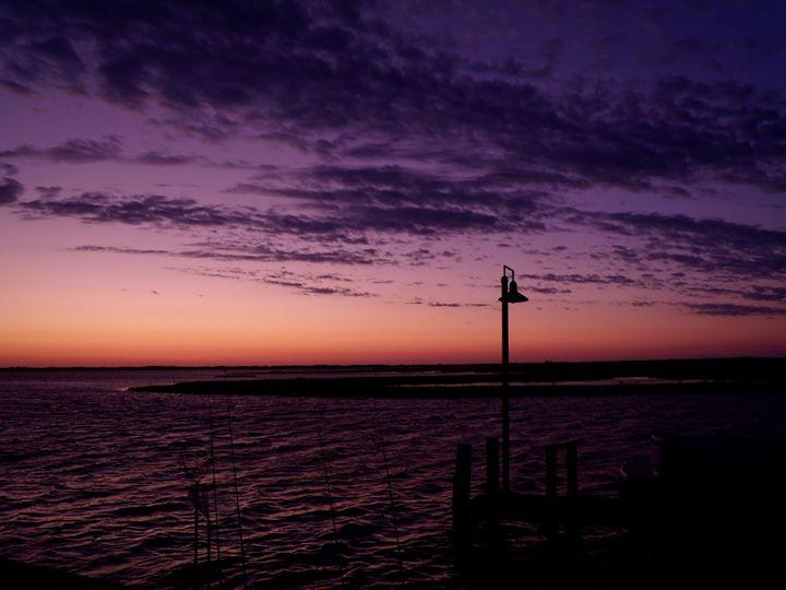 Sunrise on the Dock - Studio Twelve