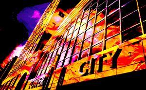 Tower City Scene