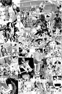 Haikyuu! Manga Collage