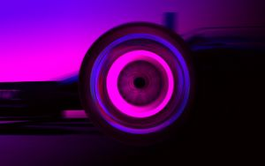 Wheel in Motion (Pink)