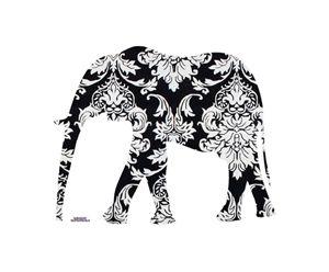 Elephant Damask