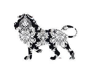 Lion Damask