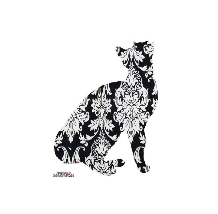 Cat Damask - Daddydecor