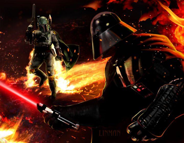 Fett VS Vader - Linman