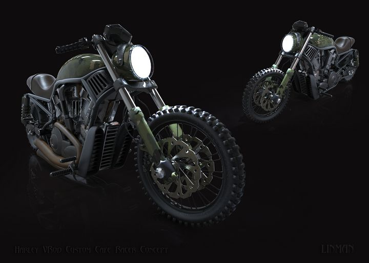 Harley Cafe Concept - Linman
