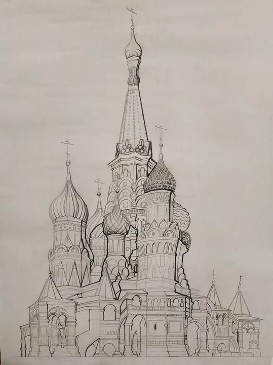 Saint Basil's Cathedral study - Kuroine