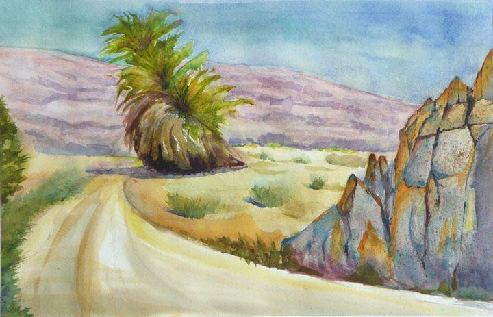 Lone Desert Tree - Limor Dekel