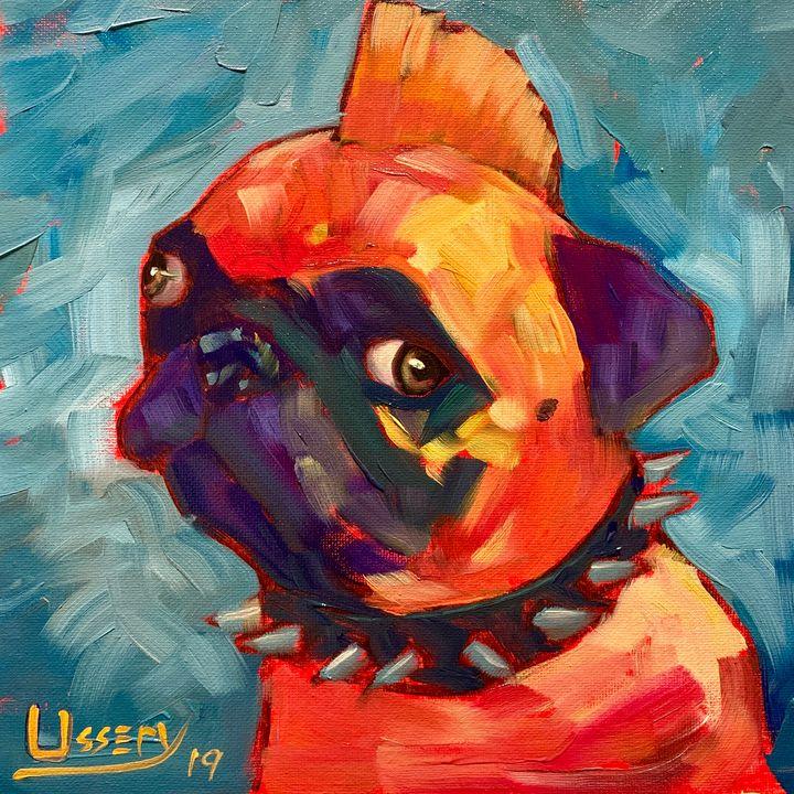 Pug Rocker - David Ussery