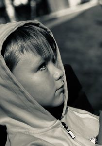 Young Kayden (side portrait)