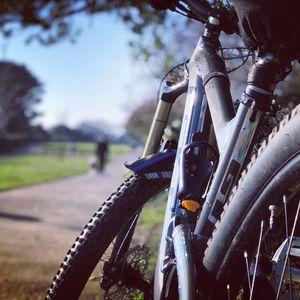Country park cycle break