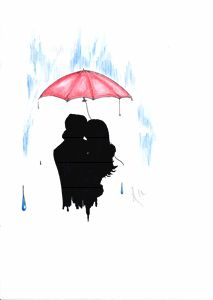 Snuggle In Rain