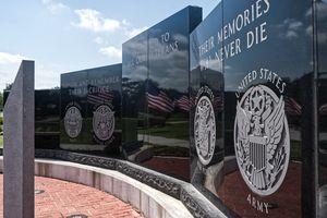 Veteran's Memorial - Acrylic Asylum Art