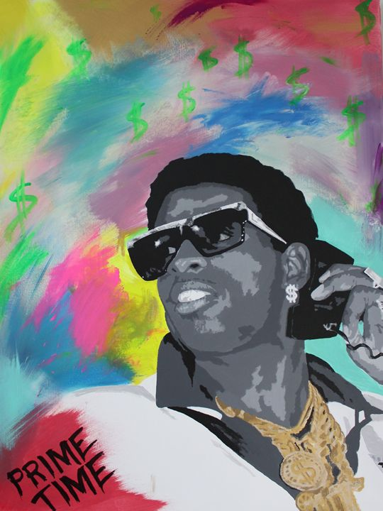 Prime Time Deion Sanders - Jeff Bourret Pop Art