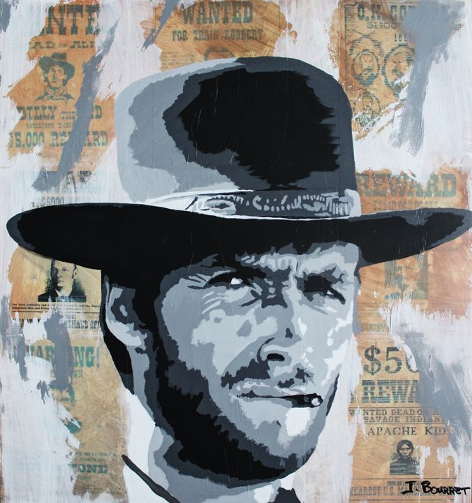 Wanted - Jeff Bourret Pop Art