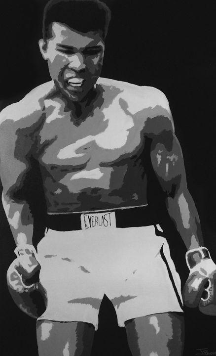 Muhammad Ali - Jeff Bourret Pop Art