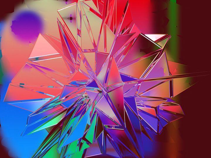 Glowing Coloured Glass - #CALARTNZ
