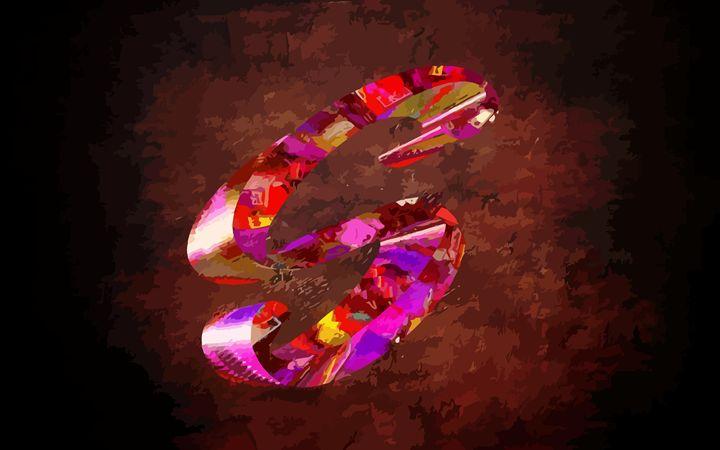 "The Jewelled Letter ""S"" - #CALARTNZ"