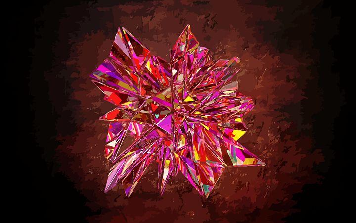 Jewelled Glass Prism - #CALARTNZ