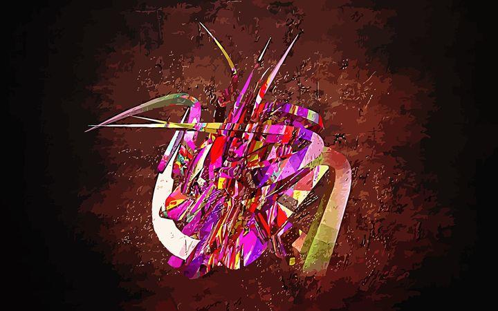 Kaleidoscopic Swan - #CALARTNZ