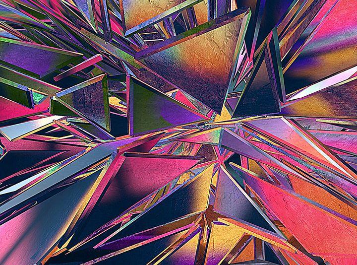Kaleidoscope Glass - #CALARTNZ