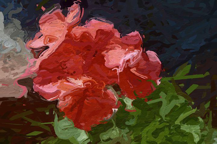 Pink Geranium First Day of Spring - #CALARTNZ