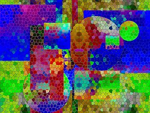 Flamboyant Mosaic