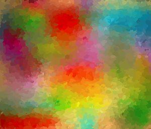 Abstract A Crisis of Colour