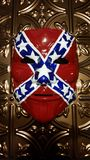 Hand Painted Southern Pride Mask