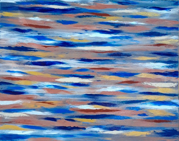 Rocky River Dance - Anna Daea Lionfish Art