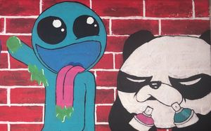 Panda Wall