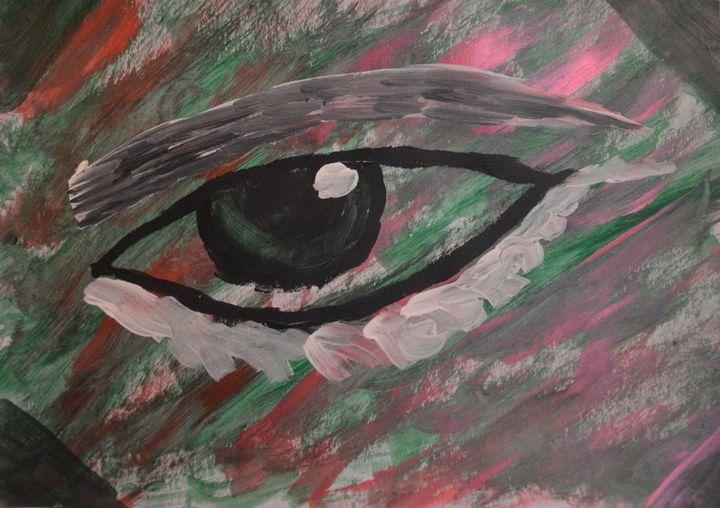 Deep eyes - Alê ARH