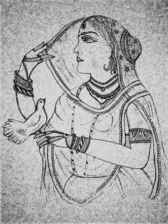 historical lady - saras