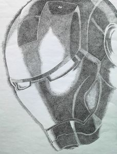 Ironman - monochrome