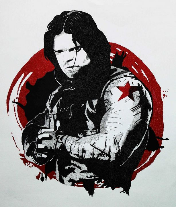 Winter Soldier - Angel Art