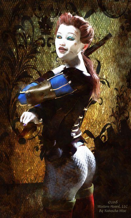 Annie the Scourge - Western Hoard Art