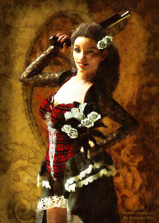 Shaliya Rose - Western Hoard Art