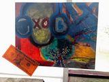 Original abducted Painting