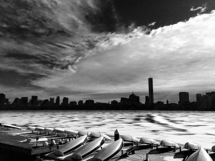 Boston Skyline from MIT - Sophia Zeteo