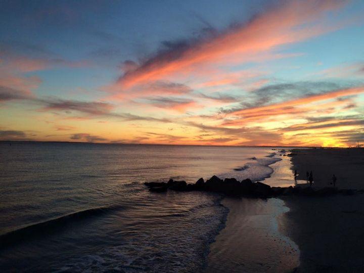 Coney Island Sunset - Sophia Zeteo