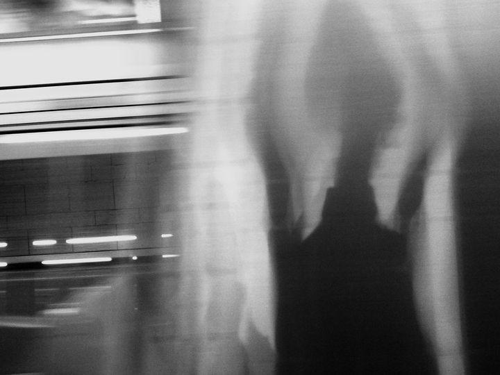 Subway Selfie - Sophia Zeteo