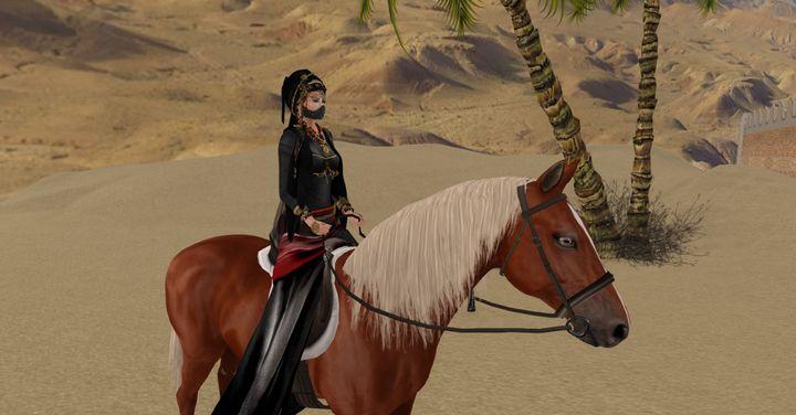 At the desert - Xanet Calbet