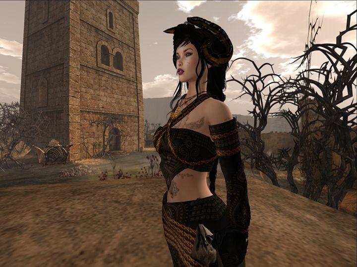 Persephone, Queen of Hades - Xanet Calbet
