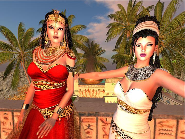 Egyptian Eyes - Xanet Calbet