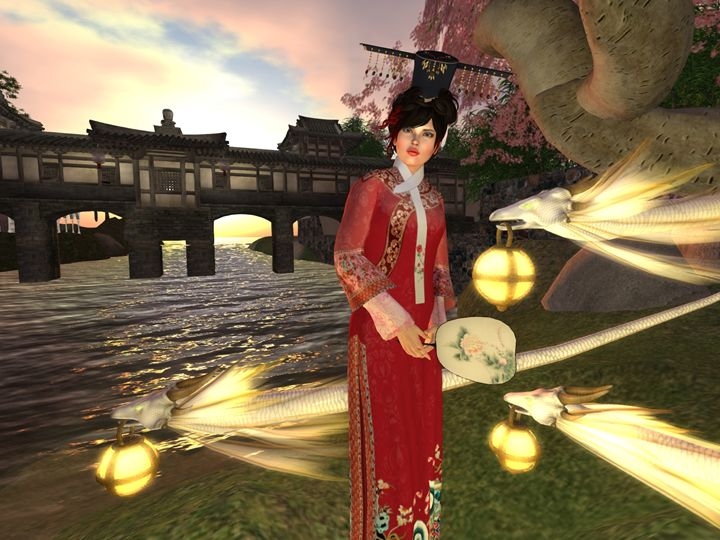 Lady of Rising Dragons - Xanet Calbet